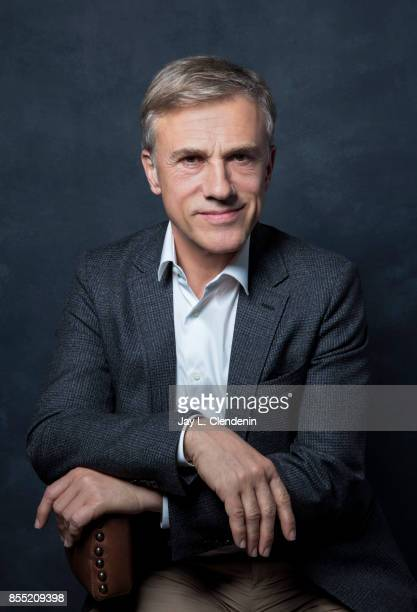 Actor Christoph Waltz from the film 'Downsizing' poses for a portrait at the 2017 Toronto International Film Festival for Los Angeles Times on...