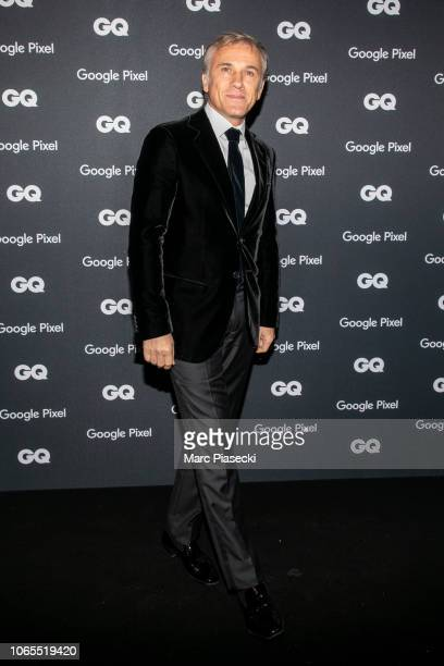 Actor Christoph Waltz GQ Special Award attends GQ Men Of The Year Awards 2018 at Centre Pompidou on November 26 2018 in Paris France