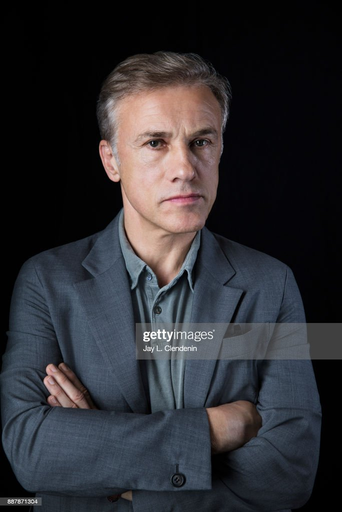 Actor Christoph Waltz is photographed for Los Angeles Times on October 6, 2017 in Los Angeles, California. PUBLISHED IMAGE.