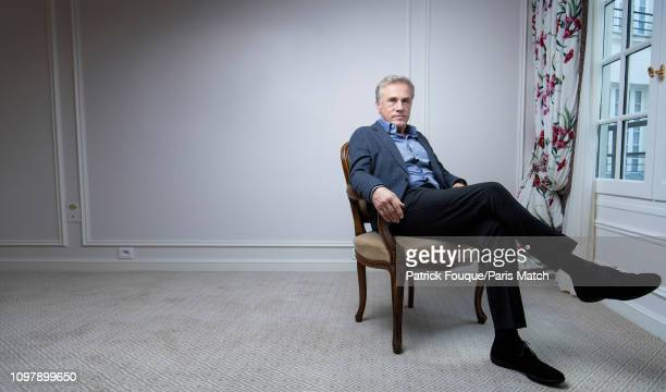 Actor Christoph Waltz is photographed for Paris Match on November 27 2018 in Paris France