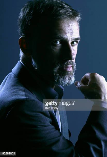 Actor Christoph Waltz is photographed in Los Angeles on October 20 2009 for the Los Angeles Times CREDIT MUST READ Ken Hively/Los Angeles...