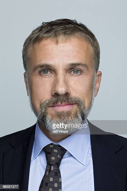 Actor Christoph Waltz poses at a portrait session on November 8 2009