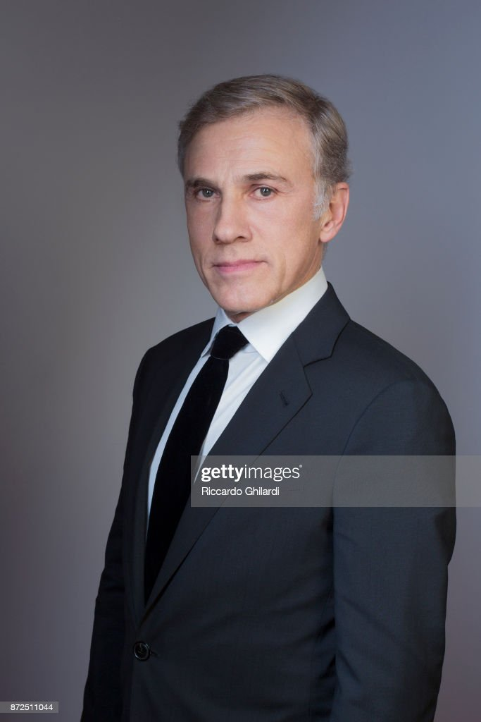 Actor Christoph Waltz poses for a portrait during the 12th Rome Film Festival on October, 2017 in Rome, Italy. (Photo by Riccardo Ghilardi/Contour by Getty Images).