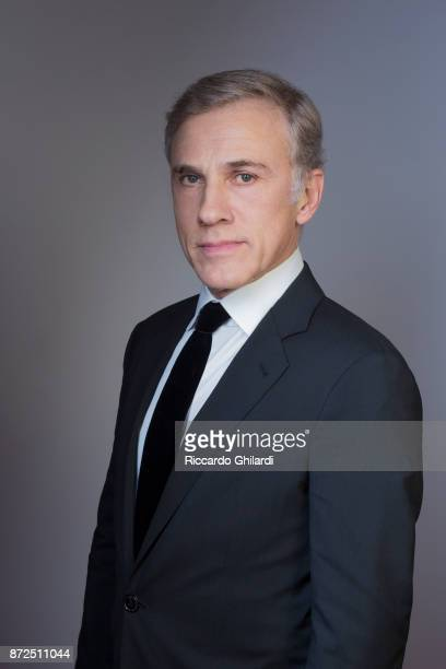 Actor Christoph Waltz poses for a portrait during the 12th Rome Film Festival on October 2017 in Rome Italy