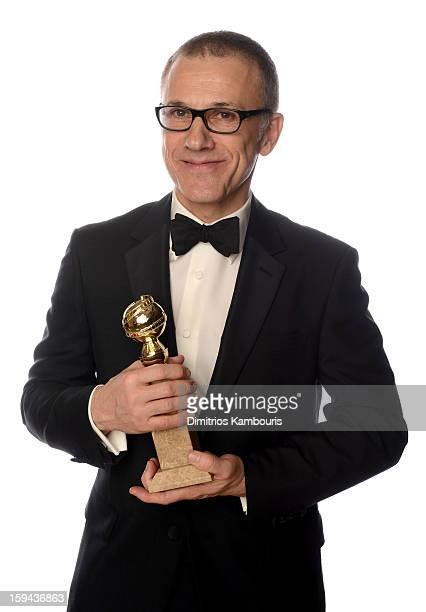 Actor Christoph Waltz winner of the Best Performance by an Actor In A Supporting Role in a Motion Picture for Django Unchained poses for a portrait...