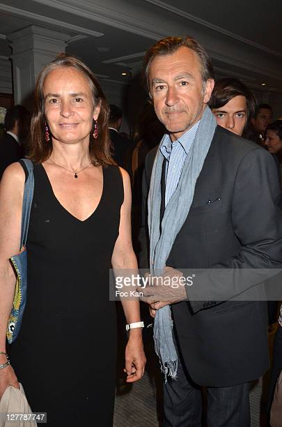 Actor Christophe Malavoy and his wife Isabelle attend the Grand Hotel Cap Ferrat Launch Cocktail at Hotel Vendome on May 30 2011 in Paris France