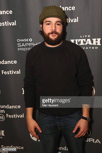 Actor Christopher Abbott attends Cinema Cafe during the 2015 Sundance Film Festival on January 27 2015 in Park City Utah