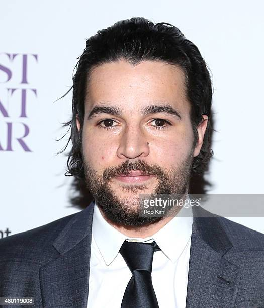 Actor Christopher Abbott attends Giorgio Armani Presents The New York Premiere Of A24's A Most Violent Year at Florence Gould Hall Theater on...