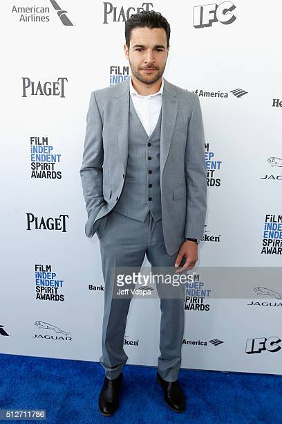 Actor Christopher Abbott attends the 2016 Film Independent Spirit Awards on February 27 2016 in Santa Monica California