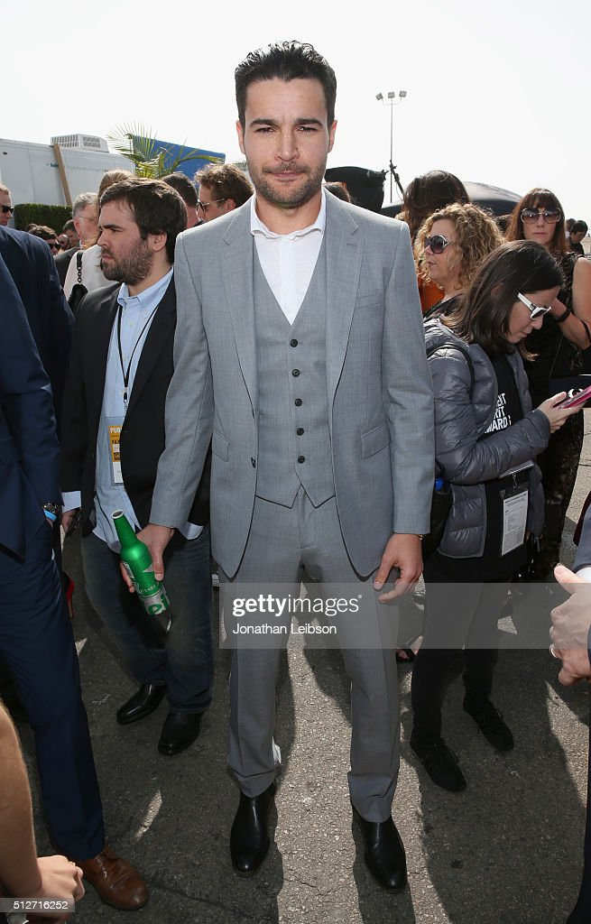 Actor Christopher Abbott attends the 2016 Film Independent Spirit Awards sponsored by Heineken on February 27, 2016 in Santa Monica, California.
