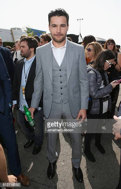 Actor Christopher Abbott attends the 2016 Film Independent Spirit Awards sponsored by Heineken on February 27 2016 in Santa Monica California