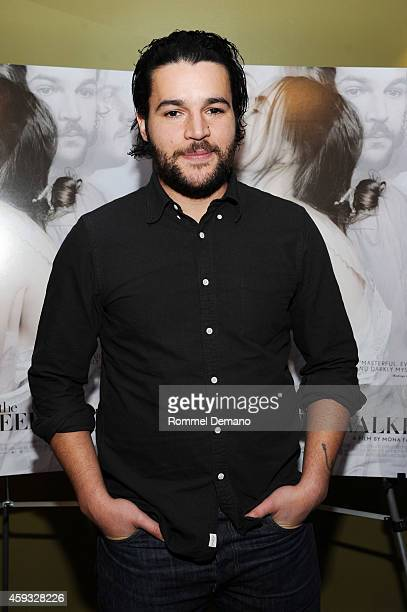 Actor Christopher Abbott attends The Sleepwalker New York Premiere at Sunshine Landmark on November 20 2014 in New York City