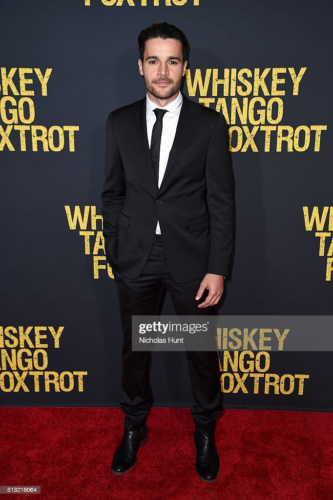 Actor Christopher Abbott attends the 'Whiskey Tango Foxtrot' world premiere at AMC Loews Lincoln Square 13 theater on March 1, 2016 in New York City.