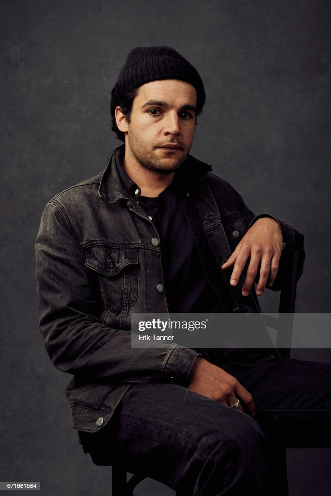 Actor Christopher Abbott from 'Sweet Virginia' poses at the 2017 Tribeca Film Festival portrait studio on on April 22, 2017 in New York City.