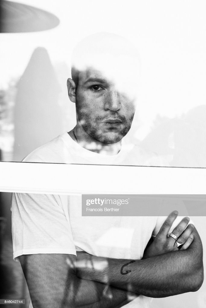 Actor Christopher Abbott is photographed on September 7, 2017 in Deauville, France.