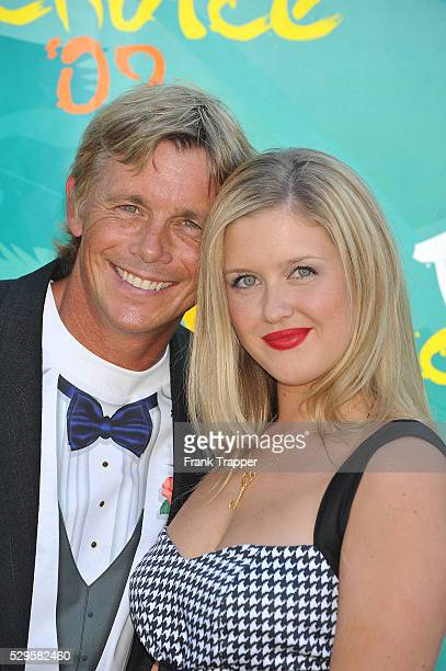 Actor Christopher Atkins and daughter Brittany arrive at the 2009 Teen Choice Awards held at Gibson Amphitheatre at Universal City