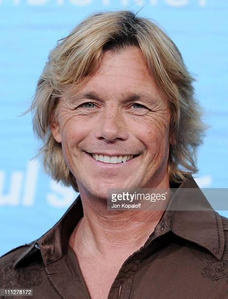 Actor Christopher Atkins arrives at the Los Angeles Premiere Soul Surfer at ArcLight Cinemas on March 30 2011 in Hollywood California