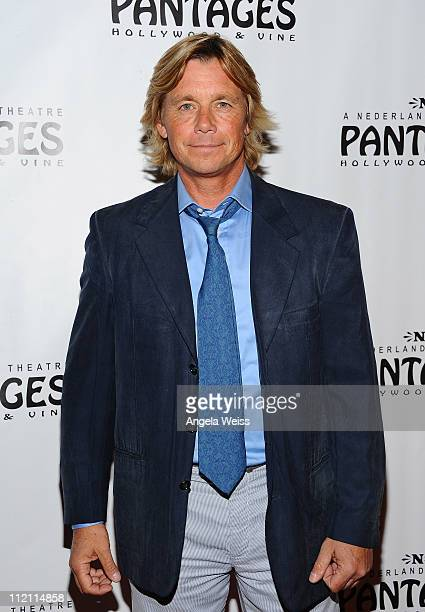Actor Christopher Atkins arrives at the opening night of 'Rain A Tribute To The Beatles' at the Pantages Theatre on April 12 2011 in Hollywood...