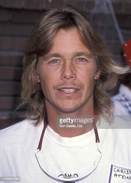 Actor Christopher Atkins attends the First Annual Camp Ronald McDonald for Good Times Family Halloween Carnival on October 31 1993 at the Walt Disney...