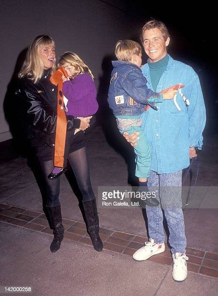 """Actor Christopher Atkins, wife Lyn Barron, daughter Brittney Bomann and son Grant Bomann attend the Teenage Mutant Ninja Turtle's """"Coming Out of..."""