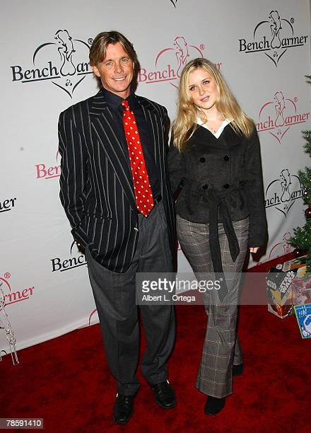 Actor Christopher Atkins with daughter Brittany attend the Second Annual Bench Warmers Trading Cards Holiday Party and Toy Drive benefitting Toys...