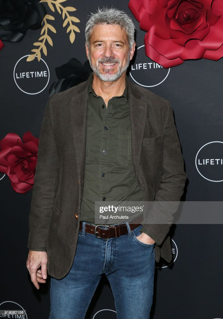 Actor Christopher Cousins attends the Anti-Valentine's bash for premieres of 'UnREAL' And 'Mary Kills People' at Eveleigh on February 13, 2018 in West Hollywood, California.
