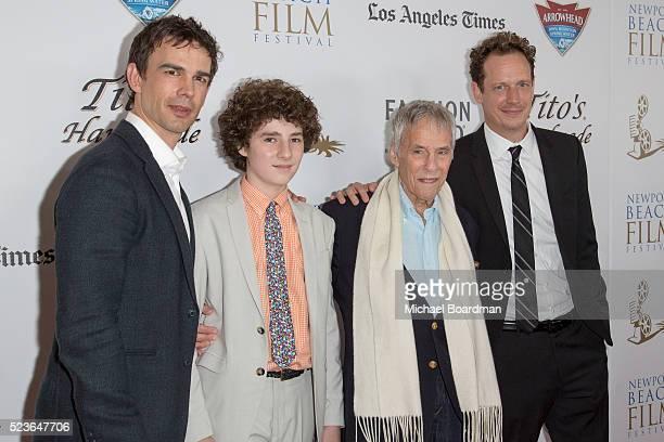 Actor Christopher Gorham Actor Julian Feder Composer Burt Bacharach and Director John Asher attends the 17th Annual Newport Beach Film Festival...