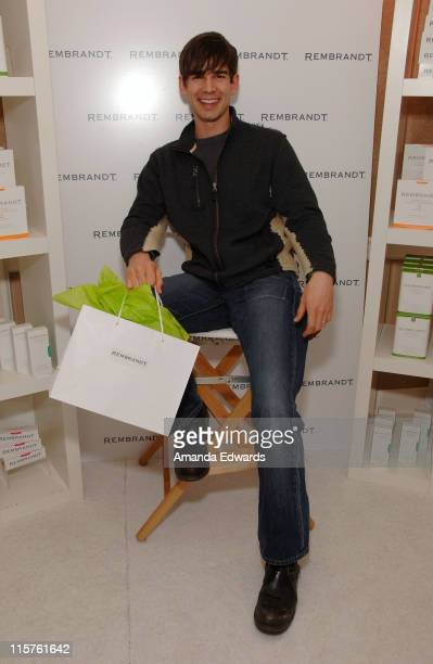 Actor Christopher Gorham attends The Belvedere Luxury Lounge in honor of the 80th Academy Awards featuring Rembrandt held at the Four Seasons Hotel...