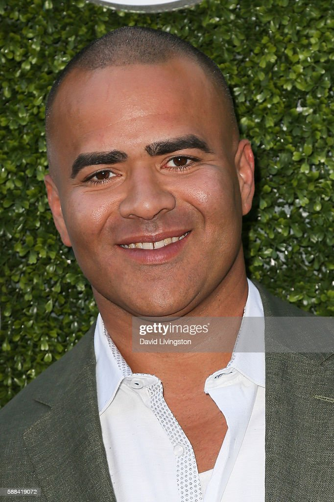 Actor Christopher Jackson arrives at the CBS, CW, Showtime Summer TCA Party at the Pacific Design Center on August 10, 2016 in West Hollywood, California.