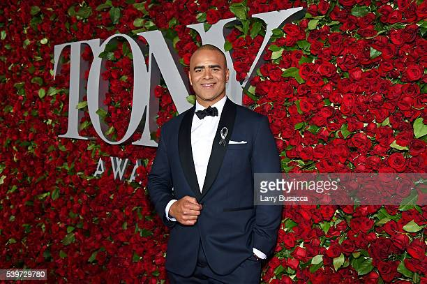 Actor Christopher Jackson attends the 70th Annual Tony Awards at The Beacon Theatre on June 12 2016 in New York City