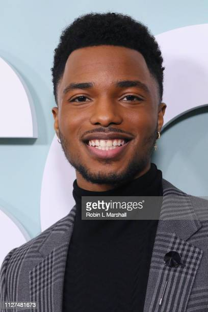 Actor Christopher Jefferson attends BET's 'American Soul' Red Carpet at Wolf Theatre on February 04 2019 in North Hollywood California
