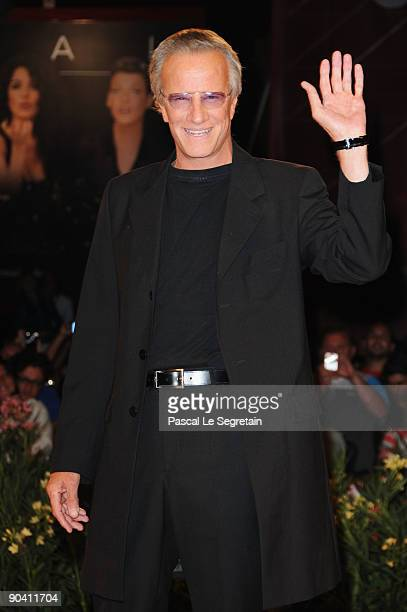 Actor Christopher Lambert attend the White Material premiere at the Sala Grande during the 66th Venice Film Festival on September 6 2009 in Venice...