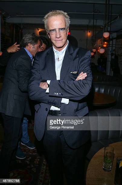 Actor Christopher Lambert attends the 'Un Plus Une' Party during the 2015 Toronto International Film Festival at Byblos on September 11 2015 in...