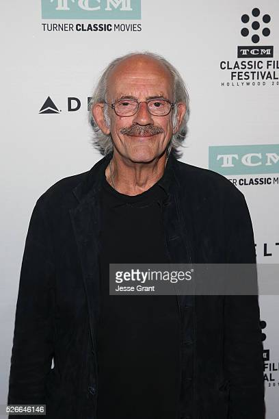 Actor Christopher Lloyd attends 'One Flew Over the Cuckoo's Nest' screening during day 3 of the TCM Classic Film Festival 2016 on April 30 2016 in...