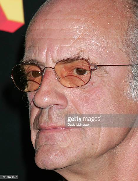 Actor Christopher Lloyd attends the Los Angeles premiere of Fly Me to the Moon at the Directors Guild of America on August 3 2008 in Los Angeles...