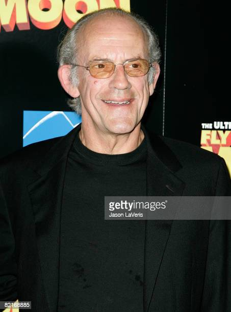Actor Christopher Lloyd attends the Los Angeles premiere of Fly Me to the Moon at the DGA Theater on August 3 2008 in Los Angeles California