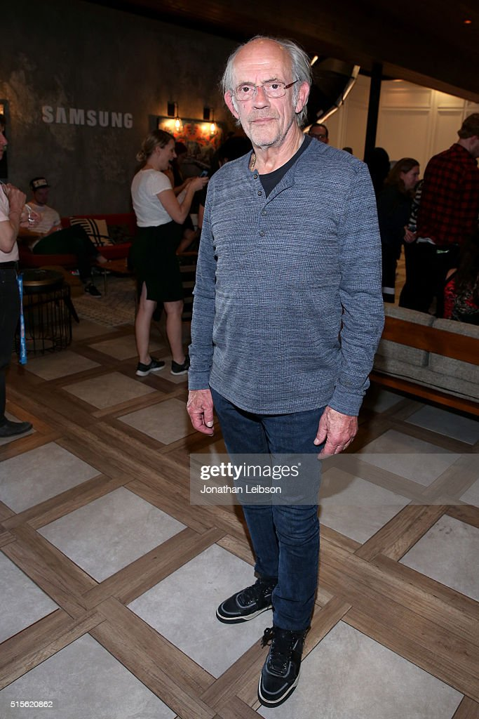 Actor Christopher Lloyd attends The Samsung Studio at SXSW 2016 on March 14, 2016 in Austin, Texas.