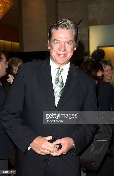 Actor Christopher McDonald attends the Casting Society of America's18th Annual Artios Awards at the Beverly Hilton Hotel on October 17 2002 in...