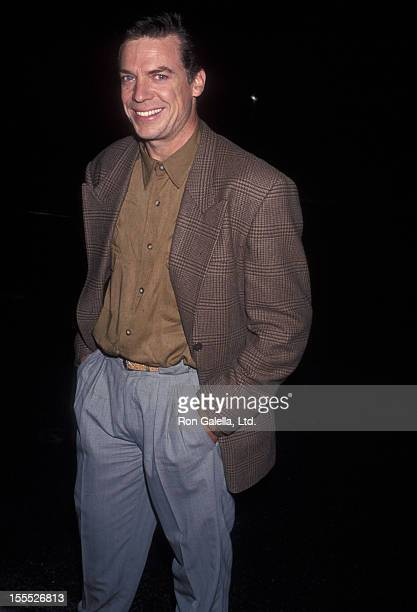 Actor Christopher McDonald attends the Malice Beverly Hills Premiere on September 29 1993 at Academy Theatre in Beverly Hills California