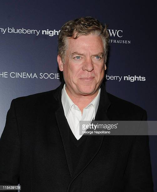 Actor Christopher McDonalde attends the premiere of My Blueberry Nights hosted by the Cinema Society and IWC at the Tribeca Grand Hotel on April 2...