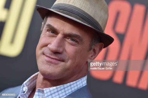 Actor Christopher Meloni arrives at the premiere of 20th Century Fox's 'Snatched' at Regency Village Theatre on May 10 2017 in Westwood California