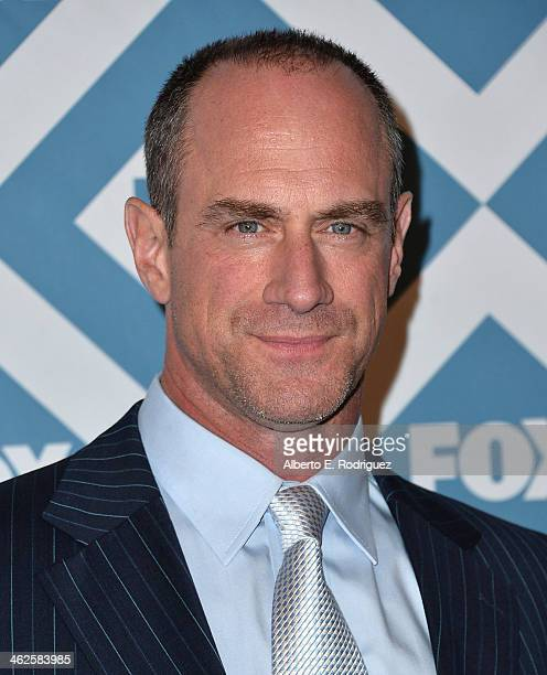 Actor Christopher Meloni arrives to the 2014 Fox AllStar Party at the Langham Hotel on January 13 2014 in Pasadena California