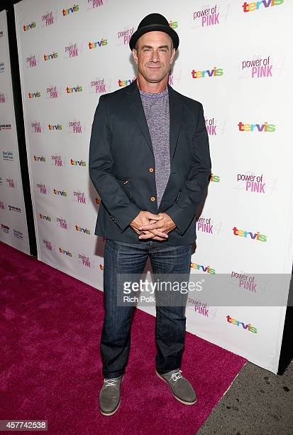 Actor Christopher Meloni attends Power of Pink 2014 Benefiting the Cancer Prevention Program at Saint John's Health Center at House of Blues Sunset...
