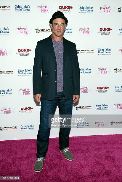 Actor Christopher Meloni attends Power of Pink 2014 Benefiting the Cancer Prevention Program at Saint John's Health Center at The House of Blues...