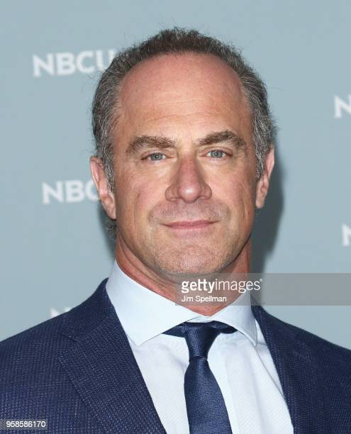 Actor Christopher Meloni attends the 2018 NBCUniversal Upfront presentation at Rockefeller Center on May 14 2018 in New York City