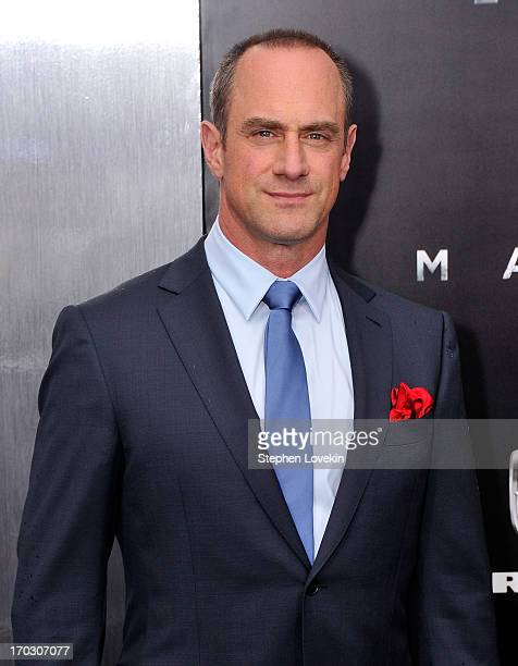 Actor Christopher Meloni attends the Man Of Steel world premiere at Alice Tully Hall at Lincoln Center on June 10 2013 in New York City