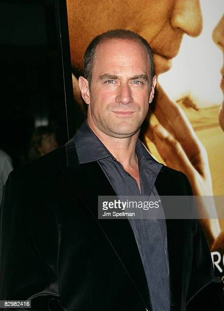 Actor Christopher Meloni attends the premiere of Miracle at St Anna at Ziegfeld Theatre on September 22 2008 in New York City