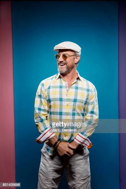 Actor Christopher Meloni from the television series 'Happy' is photographed in the LA Times photo studio at ComicCon 2017 in San Diego CA on July 22...
