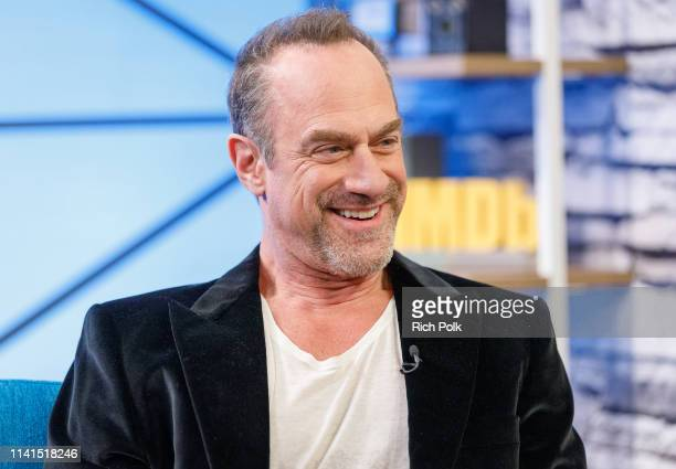 Actor Christopher Meloni visits 'The IMDb Show' on March 26, 2019 in Studio City, California. This episode of 'The IMDb Show' airs on April 25, 2019.
