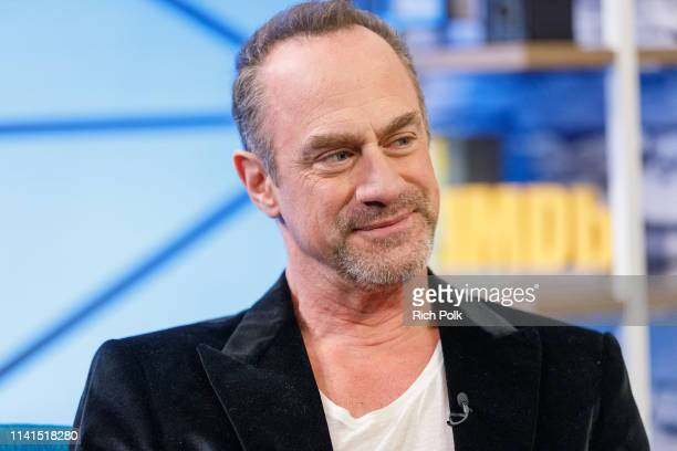 Actor Christopher Meloni visits 'The IMDb Show' on March 26 2019 in Studio City California This episode of 'The IMDb Show' airs on April 25 2019